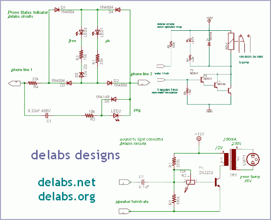 Circuits using only discrete devices